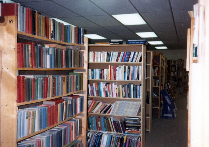 Our bookstore, Dusty Bookworm, in Tulsa, Oklahoma. My grandpa owned it and my mom managed it and it was the best place to grow up.