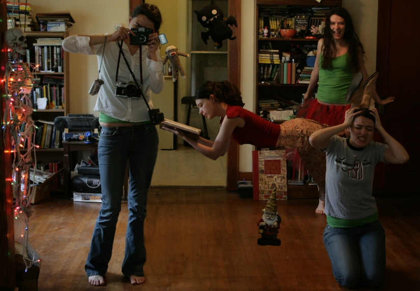 Projects throughout the years: My first 365 self portrait set in 2007/2008