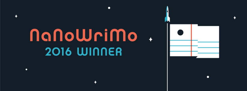 NaNoWriMo 2016: 50,608 words