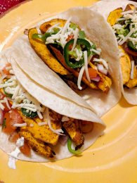 15. Sweet Potato Fajitas (Hello Fresh)